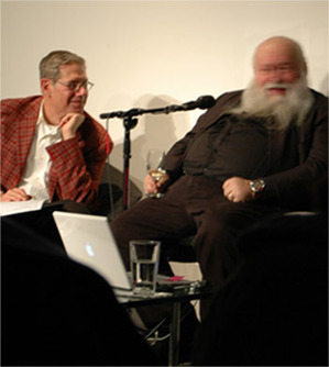 Artist Hermann Nitsch speaks with Curator Simon Zalkind at the Museum of Contemporary Art Denver February 24, 2011